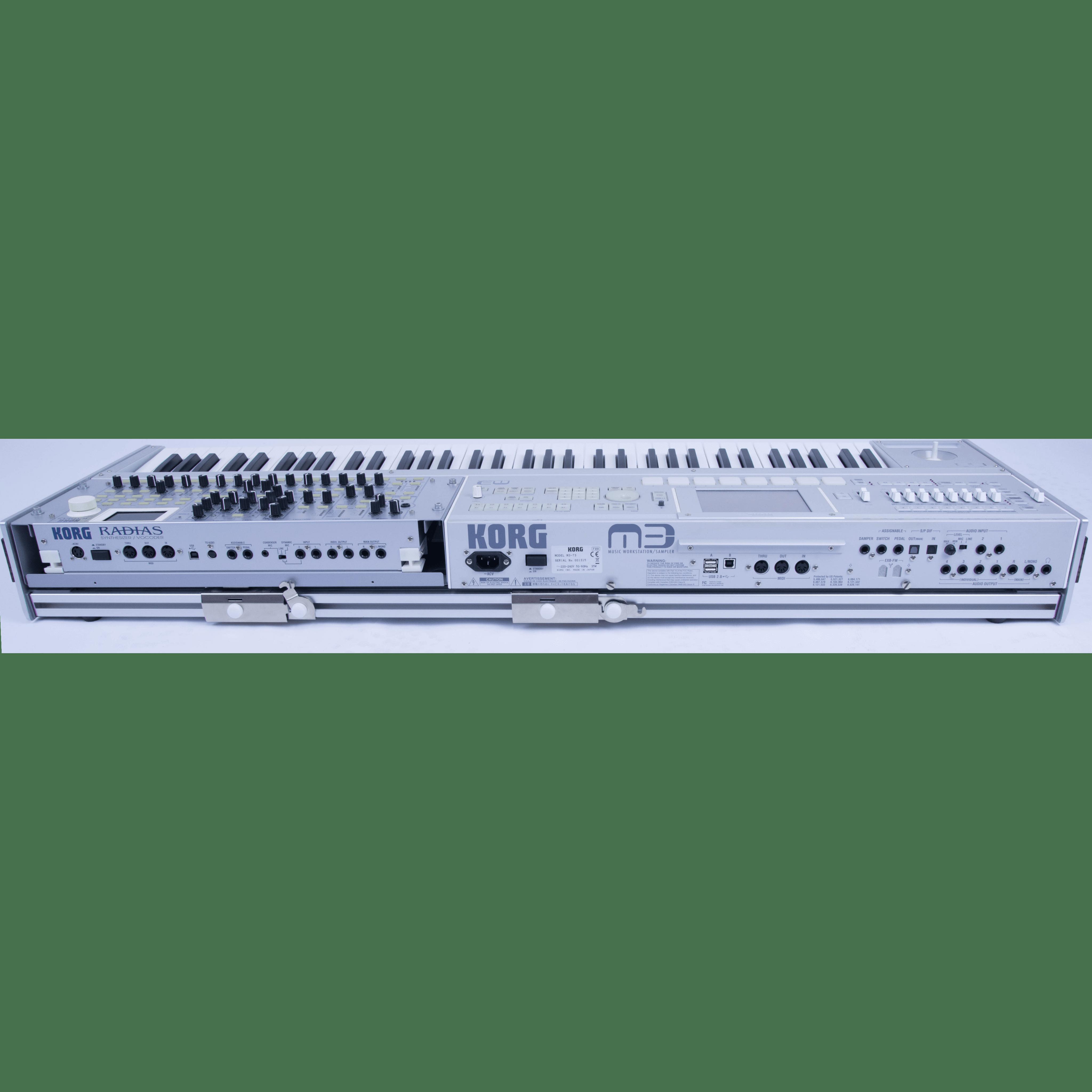 Korg M3 Radias combo synth - Ocsidance Pro Audio